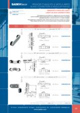 Conectoare pentru pereti de sticla SADEV DECOR