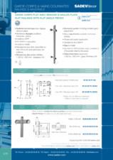 Sisteme de prindere pentru balustrade SADEV DECOR