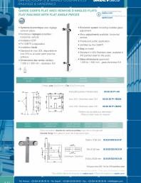 Sisteme de prindere pentru balustrade