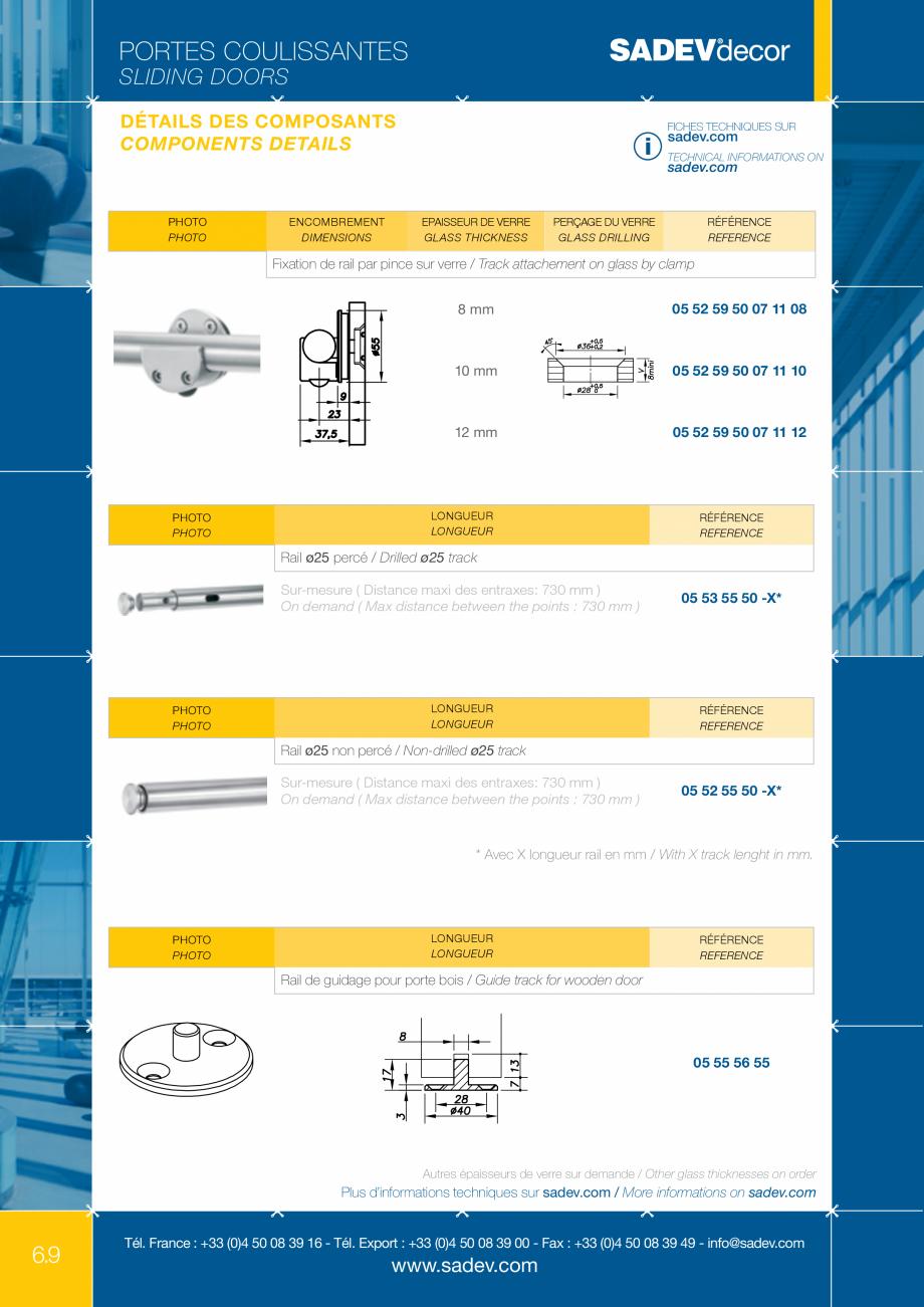 Pagina 3 - Sistem pentru usi glisante - MEDIUM SADEV DECOR Sisteme usi glisante Fisa tehnica Engleza...