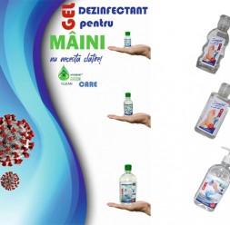 Gel dezinfectant pentru maini si protectia angajatilor NEW DESIGN COMPOSITE