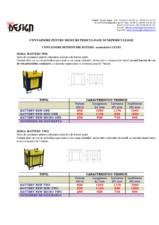 Containere pentru deseuri periculoase si nepericuloase NEW DESIGN COMPOSITE