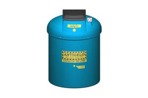 Containere depozitare pentru deseuri New Design Composite ofera containere din polietilena pentru depozitarea deseurilor de tipul bateriilor uzate, deseurilor periculoase, emulsii uleioase.