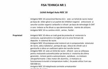 Antigel auto concentrat NEW DESIGN COMPOSITE