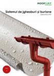 Jgheaburi si burlane din PVC / ROOFART / ROOFART - Producator sisteme complete de acoperis