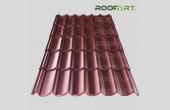 Tigla metalica clasica si dublu-modulara Umbrella Tigla metalica Umbrella de la RoofArt este disponibila in doua variante: clasica si dublu-modulara si este disponibila la comanda in diferite culori.