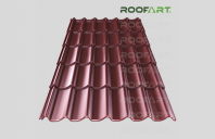 Tigla metalica clasica si dublu-modulara Umbrella Tigla metalica Umbrella de la RoofArt este