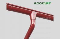 Sisteme de jgheaburi si burlane metalice si din plastic Scandic Compania ROOFART produce si