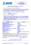 Declaratie de performanta - Strat de protectie din poliuree hibrida cu utilizare preconizata in protejarea suprafetelor