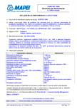 Declaratie de performanta - Strat de protectie din poliuree pura cu utilizare preconizata in protejarea suprafetelor
