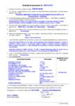 Declaratie de performanta - produs bi-component pe baza de poliuree hidrida pentru protectia suprafetelor - acoperiri