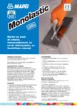 Mortar pe baza de ciment, monocomponent, cu rol de hidroizolație, cu flexibilitate ridicata MAPEI - MONOLASTIC