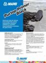 Amorsa pe baza de solvent monocomponenta pentru imbunatatirea aderentei asfaltului pe suprafete impermeabilizate cu produse din