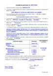 Declaratie de performanta - Adeziv imbunatatit pe baza de ciment pentru placi ceramice MAPEI - ADESILEX
