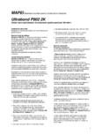 Adeziv epoxi-poliuretanic bicomponent pentru pardoseli din lemn MAPEI - ULTRABOND P902 2K
