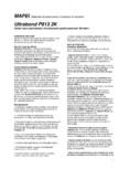 Adeziv epoxi-poliuretanic bicomponent pentru pardoseli din lemn MAPEI - ULTRABOND P913 2K
