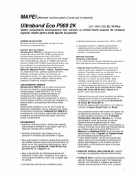 Adeziv poliuretanic bicomponent pentru toate tipurile de parchet