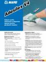 Adeziv acrilic universal in dispersie apoasa pentru pardoseli elastice