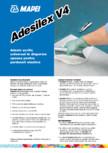 Adeziv acrilic universal in dispersie apoasa pentru pardoseli elastice MAPEI - ADESILEX V4