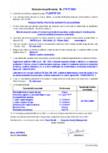 Declaratie de performanta - Produs pentru protectia suprafetelor - acoperiri MAPEI - PLANITOP 210