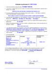 Declaratie de performanta - Mortar de nivelare/tencuire cu intrebuintari generale (GP) MAPEI - POROMAP FINITURA
