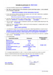 Declaratie de performanta - Mortar de uz general pentru tencuire/gletuire (GP)  MAPEI - PLANITOP 217