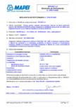 Declaratie de performanta -Produs pentru injectari bicomponent pentru repararea si protejarea structurilor din beton prin umplerea