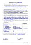 Declaratie de performanta - Produs bi-component de injectare a betonului pe baza de rasina poliuretanica MAPEI