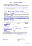 Declaratie de performanta - Produs de injectare a betonului pe baza de rasina poliuretanica - U(S1)W(8)(1)(5