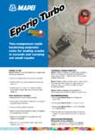 Rasina poliesterica bicomponenta cu priza rapida pentru repararea si monolitizarea fisurilor din pardoseala MAPEI - EPORIP