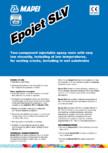 Rasina epoxidica bicomponenta pentru injectari in microfisuri la temperaturi scazute si suport umed MAPEI - EPOJET