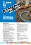 Mortar monocomponent, cu contracție controlată, fibroranforsat, pentru repararea betonului MAPEI - MAPEGROUT COLABILE TI 20