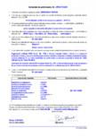 Declaratie de performanta - Mortar hidraulic modificat prin aditivarea cu polimeri – (R3-PCC) MAPEI - MAPEGROUT