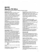 Ancora chimica pentru ancoraje in zidarie si incarcari usoare MAPEI