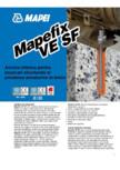 Ancora chimica pentru incarcari structurale si prinderea armaturilor in beton MAPEI - MAPEFIX VE SF