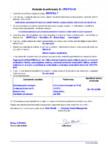 Declaratie de performanta - Mortar de ancorare pe baza de ciment pentru consolidarea structurilor din beton
