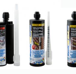 Ancore chimice MAPEI va ofera o gama variata de ancore chimice pentru incarcari structurale.