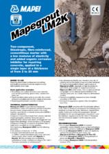 Mortar bicomponent pe baza de ciment MAPEI