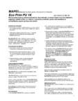 Rasina poliuretanica monocomponenta pentru hidroizolarea si consolidarea sapelor pe baza de ciment MAPEI - ECO PRIM