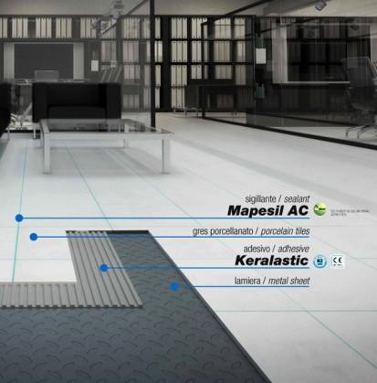 1. Rost elastic gresie MAPESIL AC Etansant siliconic acetic