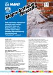 Mortar predozat pe baza de var  MAPEI - Mape-Antique Rinzaffo