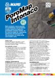 Mortar predozat cu rezistenta la saruri si sulfati MAPEI - Poromap Intonaco