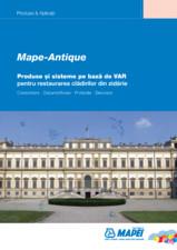 Produse si sisteme pe baza de VAR pentru restaurarea cladirilor din zidarie MAPEI
