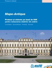 Produse si sisteme pe baza de VAR pentru restaurarea cladirilor din zidarie
