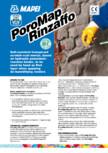 Mortare de asanare pe baza de ciment MAPEI - PoroMap Rinzaffo