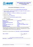Declaratie de performanta: Nr. CPR-IT1/0142 MAPEI - MAPE-ANTIQUE STRUTTURALE NHL