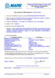 Declaratie de performanta: Nr. CPR-IT1/0143 MAPEI - MAPE-ANTIQUE STRUTTURALE NHL