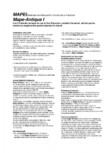 Liant hidraulic filerizat, superfluid MAPEI - Mape-Antique I