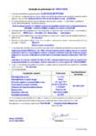 Declaratie de performanta - Produs pentru protectia suprafetelor - acoperiri MAPEI - ELASTOCOLOR PAINT