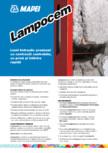 Liant hidraulic predozat cu contractii controlate, cu priza si intarire rapida MAPEI - LAMPOCEM